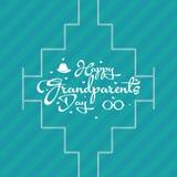 Ημέρα παππούδων και γιαγιάδων Στοκ Εικόνες