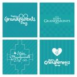 Ημέρα παππούδων και γιαγιάδων Στοκ εικόνες με δικαίωμα ελεύθερης χρήσης