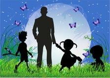 Ημέρα πατέρα, διανυσματική απεικόνιση