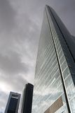 ημέρα πόλεων θυελλώδης Στοκ φωτογραφία με δικαίωμα ελεύθερης χρήσης