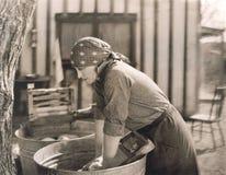 Ημέρα πλυσίματος στοκ φωτογραφίες με δικαίωμα ελεύθερης χρήσης