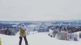 Ημέρα σκι Στοκ φωτογραφία με δικαίωμα ελεύθερης χρήσης