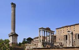 Ημέρα στηλών φόρουμ της Ρώμης Στοκ Εικόνες
