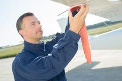 Ημέρα συντήρησης για τα αεροσκάφη Στοκ Φωτογραφίες