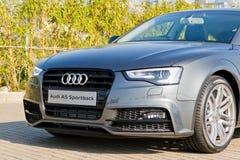 Ημέρα τεστ δοκιμής Audi A5 2015 Στοκ εικόνες με δικαίωμα ελεύθερης χρήσης