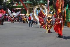 Ημέρα της ανεξαρτησίας καρναβάλι της Ινδονησίας Στοκ Εικόνα