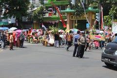 Ημέρα της ανεξαρτησίας καρναβάλι της Ινδονησίας Στοκ φωτογραφία με δικαίωμα ελεύθερης χρήσης