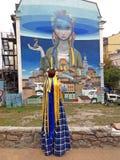 Ημέρα της ανεξαρτησίας σε Kyiv, Ουκρανία Στοκ φωτογραφία με δικαίωμα ελεύθερης χρήσης
