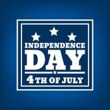 Ημέρα της ανεξαρτησίας σκιαγραφία-03 Στοκ εικόνες με δικαίωμα ελεύθερης χρήσης