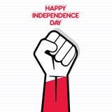 Ημέρα της ανεξαρτησίας του σχεδίου της Πολωνίας Στοκ φωτογραφία με δικαίωμα ελεύθερης χρήσης