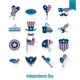 Ημέρα της ανεξαρτησίας των Ηνωμένων Πολιτειών Στοκ φωτογραφία με δικαίωμα ελεύθερης χρήσης