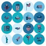 Ημέρα της ανεξαρτησίας των Ηνωμένων Πολιτειών Στοκ Εικόνα