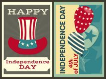 Ημέρα της ανεξαρτησίας των Ηνωμένων Πολιτειών ελεύθερη απεικόνιση δικαιώματος