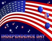 Ημέρα της ανεξαρτησίας. ελεύθερη απεικόνιση δικαιώματος