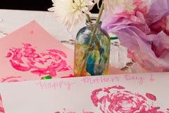Ημέρα της ευτυχούς μητέρας (άποψη 6) Στοκ φωτογραφία με δικαίωμα ελεύθερης χρήσης