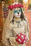 Ημέρα της νεκρής νύφης Στοκ εικόνα με δικαίωμα ελεύθερης χρήσης