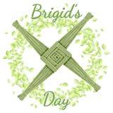 Ημέρα της Brigid r r διανυσματική απεικόνιση