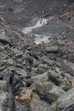 Ημέρα της Misty στα βουνά κοντά στο Franz Josef Glacier στοκ φωτογραφία με δικαίωμα ελεύθερης χρήσης