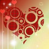 Ημέρα του λαϊκού βαλεντίνου καρδιών διανυσματική απεικόνιση