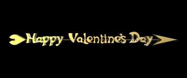 Ημέρα του ευτυχούς βαλεντίνου Στοκ εικόνες με δικαίωμα ελεύθερης χρήσης