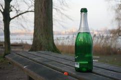 Ημέρα του νέου έτους, Αμβούργο, Γερμανία Στοκ φωτογραφία με δικαίωμα ελεύθερης χρήσης