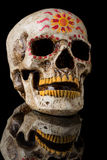 Ημέρα του νεκρού κρανίου Στοκ εικόνα με δικαίωμα ελεύθερης χρήσης