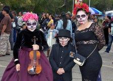 Ημέρα του νεκρού φεστιβάλ, Fruitvale, Καλιφόρνια στοκ φωτογραφία με δικαίωμα ελεύθερης χρήσης