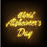Ημέρα του παγκόσμιου Alzheimer ` s Στοκ Εικόνα