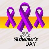 Ημέρα του παγκόσμιου Alzheimer ` s Στοκ Φωτογραφίες