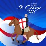 Ημέρα του ST George Στοκ εικόνες με δικαίωμα ελεύθερης χρήσης