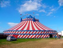 ημέρα τσίρκων έξω Στοκ εικόνα με δικαίωμα ελεύθερης χρήσης