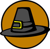 ημέρα των ευχαριστιών προσκυνητών καπέλων Στοκ Φωτογραφία