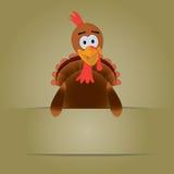 Ημέρα των ευχαριστιών Τουρκία με το copyspace Στοκ Φωτογραφίες