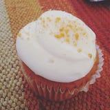 Ημέρα των ευχαριστιών cupcake yummy Στοκ Φωτογραφίες