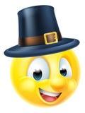 Ημέρα των ευχαριστιών Emoji Στοκ Φωτογραφίες