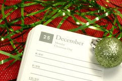 ημέρα των Χριστουγέννων Στοκ Εικόνες