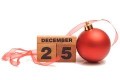 Ημέρα των Χριστουγέννων Στοκ φωτογραφία με δικαίωμα ελεύθερης χρήσης