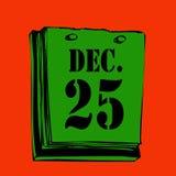 ημέρα των Χριστουγέννων απεικόνιση αποθεμάτων