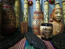 ημέρα φεστιβάλ gawai διακοσμήσεων στοκ φωτογραφία