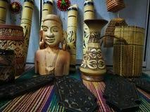 ημέρα φεστιβάλ gawai διακοσμήσεων στοκ εικόνες