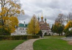 Ημέρα φθινοπώρου στο μοναστήρι Novodevichy στη Μόσχα Στοκ φωτογραφίες με δικαίωμα ελεύθερης χρήσης