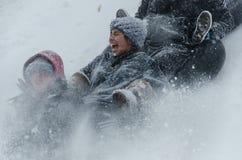 Ημέρα χιονιού Στοκ Φωτογραφίες