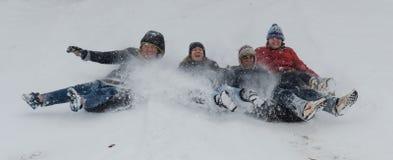 Ημέρα χιονιού Στοκ εικόνες με δικαίωμα ελεύθερης χρήσης