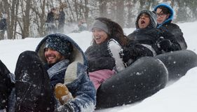 Ημέρα χιονιού Στοκ Φωτογραφία