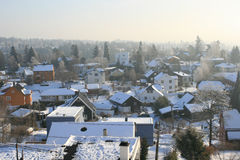 ημέρα χιονώδης Στοκ Εικόνες