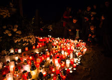 Ημέρα όλων των Αγίων, Pezinok, Σλοβακία Στοκ φωτογραφίες με δικαίωμα ελεύθερης χρήσης