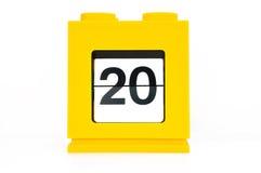 ημέρα 20 Στοκ εικόνες με δικαίωμα ελεύθερης χρήσης