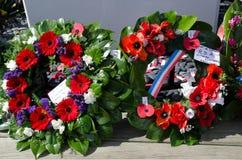 Ημέρα Anzac - πολεμικό επιμνημόσυνη δέηση Στοκ Φωτογραφία