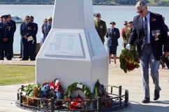 Ημέρα Anzac - πολεμικό επιμνημόσυνη δέηση Στοκ εικόνες με δικαίωμα ελεύθερης χρήσης