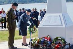 Ημέρα Anzac - πολεμικό επιμνημόσυνη δέηση Στοκ εικόνα με δικαίωμα ελεύθερης χρήσης